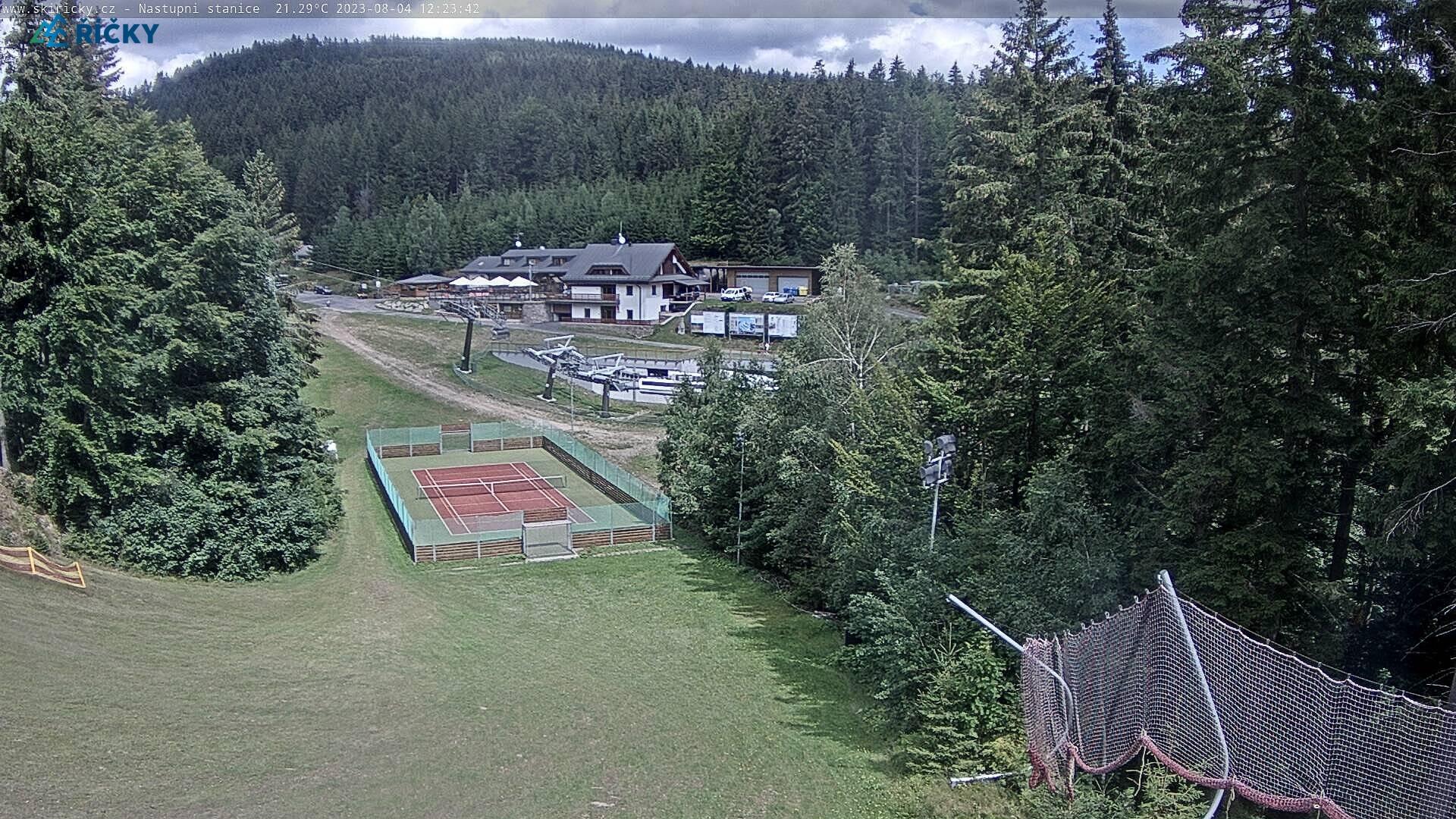 Webcam Skigebiet Ricky v O.h. cam 2 - Adlergebirge
