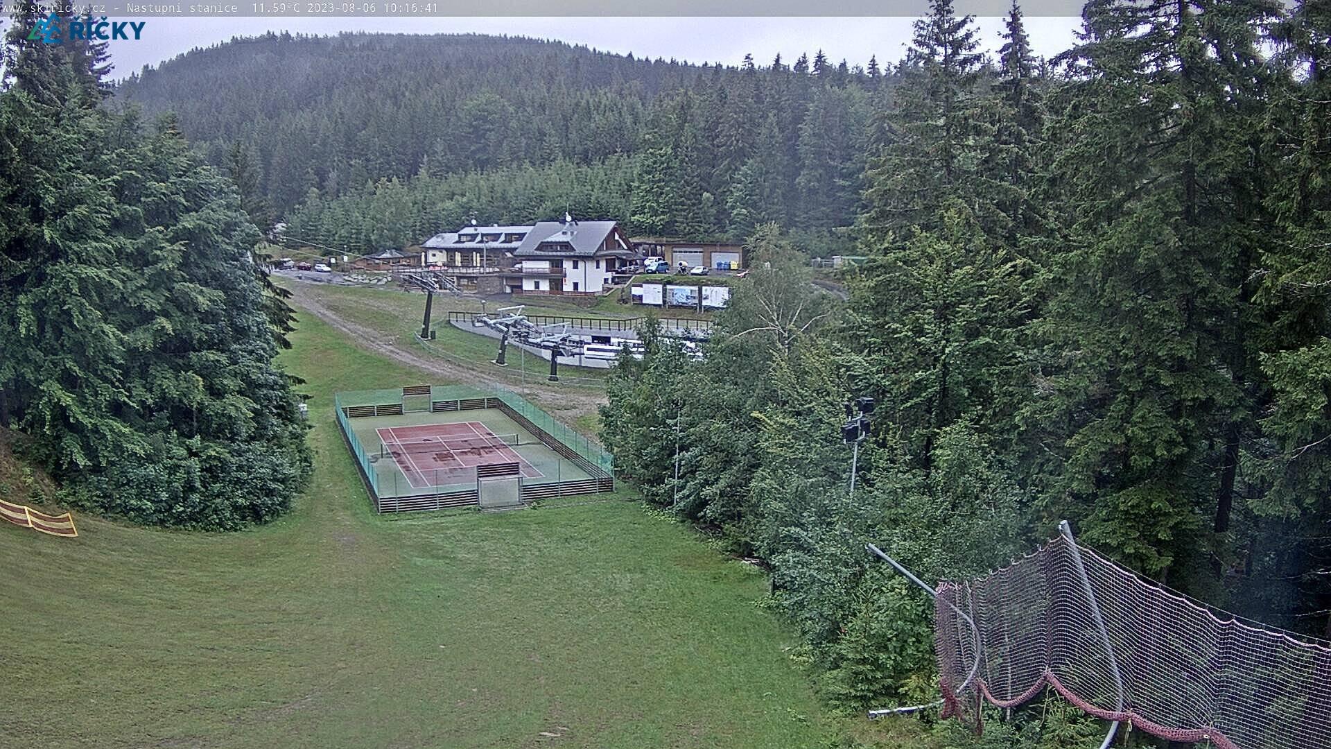 Webcam Skigebied Ricky v O.h. cam 2 - Adelaarsgebergte
